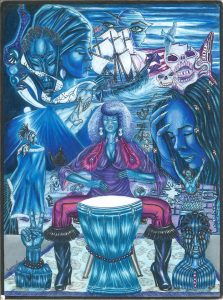 Miss-Journey-Blues'-art-by-G.-Lumumba-Edwards-0217-web-223x300, Alabama's Tutwiler Prison for Women: Officers break prisoner's leg after allowing another prisoner to attack her, Behind Enemy Lines