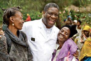 Dr.-Denis-Mukwege-gives-hugs-Panzi-Hospital-celebration-for-rape-survivors-and-patients-300x201, Famous Congolese gynecologist Denis Mukwege considered for future Nobel Peace Prize, World News & Views