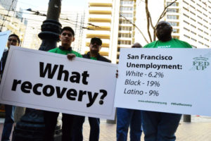 Fed-Up-campaign-rally-San-Francisco-030515-by-Center-for-Popular-Democracy-1-300x200, San Francisco leads the country in African-American employment disparity, Local News & Views
