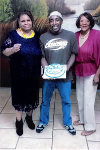 Kenny-Zulu-Whitmore-celebrates-his-birthday-w-family-102816-201x300, Updates on Zulu, Behind Enemy Lines