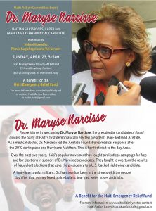 Maryse-Narcisse-postcard-042317-web-222x300, The woman who should be president of Haiti to speak in Oakland April 23, World News & Views