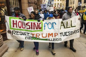 Protest-Trump-HUD-budget-cuts-Chicago-032117-by-Tyler-LaRiviere-web-300x200, Oakland's affordable housing threatened by Trump's proposed $6.2 billion budget cut to HUD, Local News & Views