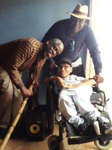 South-Africa-tour-Leroy-Moore-Simon-Manda-2J-Harmonix-1216-224x300, Krip Hop Nation's Leroy Moore journeys to South Africa, World News & Views