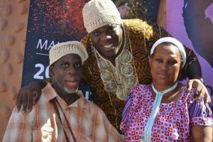 South-Africa-tour-Leroy-Moore-Simon-Manda-wear-Rita's-hats-crocheted-w-one-hand-300x200, Krip Hop Nation's Leroy Moore journeys to South Africa, World News & Views