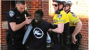 Baltimore-PD-arrest-Freddie-Gray-face-contorted-in-pain-041215-300x171, 'The public peace': Race, class, control and the creation of the modern police in antebellum Baltimore, National News & Views