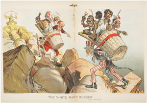 British-John-Bull-American-Uncle-Sam-bear-'The-White-Man's-Burden'-by-Victor-Gillam-for-Judge-magazine-0401-1899-300x210, God squares off with the devil in Syria and Rwanda, World News & Views