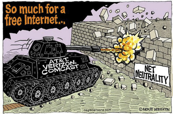 Net-Neutrality-cartoon-by-Monte-Wolverton-web, Net neutrality: Protecting your right to free speech in the 21st century, National News & Views