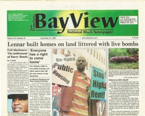 SF-Bay-View-front-page-112107-web-300x239, Bay View turns 40! Part 2, Local News & Views