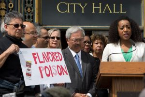 SF-Supervisor-Malia-Cohen-introduces-ordinance-to-ban-flavored-tobacco-041817-by-Malaika-300x200, AATCLC stands with San Francisco Supervisor Malia Cohen as she introduces bold city-wide ordinance to restrict the sale of menthol and flavored tobacco products, Local News & Views