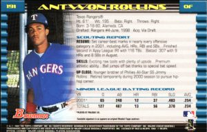 Antwon-Rollins-Texas-Rangers-baseball-trading-card-300x192, '#Victim 505': Local filmmaker Antwon Rollins' horror short selected for SF Black Film Fest, Culture Currents