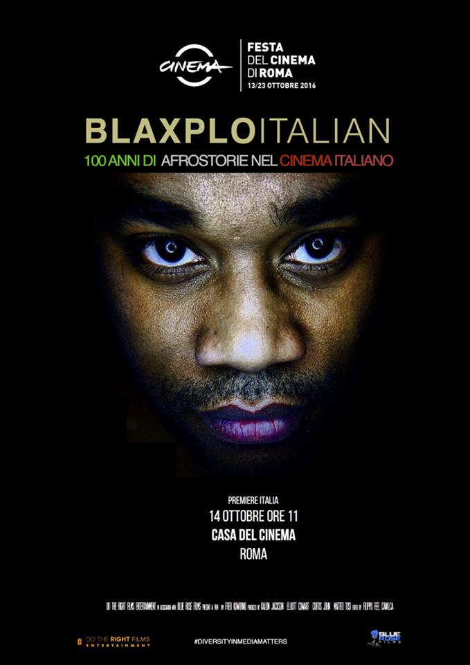 BlaxploItalian-poster, 'BlaxploItalian: 100 Years of Blackness in Italian Cinema', Culture Currents