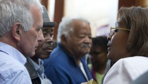 Dr.-Maryse-Narcisse-Robert-Roth-Richard-Brown-former-La.-state-Rep.-Theodore-Marchand-MN-1st-Presby-Oakland-042317-by-Malaika-web-300x171, 'Haiti will never accept the electoral coup d'etat', World News & Views