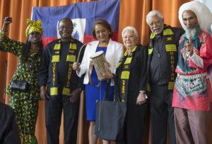 Dr.-Maryse-Narcisse-Vukani-Mawethu-choir-Kujichagulia-Thomas-McKennie-MN-Anne-Jim-McWilliams-Val-Serrant-1st-Presby-Oakland-042317-by-Malaika-web-300x203, 'Haiti will never accept the electoral coup d'etat', World News & Views
