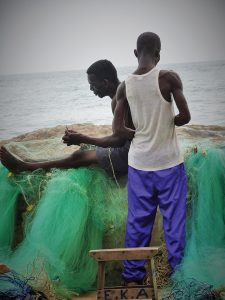 GÇÿPreparing-for-the-CatchGÇÖ-at-Elmina-Slave-Dungeon-Ghana-by-Wanda-225x300, Wanda's Picks for May 2017, Culture Currents