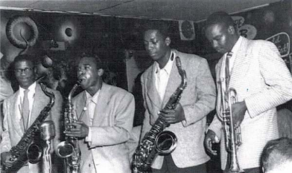 Harlem-of-the-West-John-Handy-Pony-Poindexter-John-Coltrane-Frank-Fisher-at-Bop-City-web, 'Harlem of the West – The San Francisco Fillmore Jazz Era': See the exhibit, read the book, Culture Currents