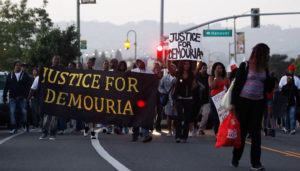 Justice-for-Demouria-Hogg-murdered-060615-by-OPD-protest-march-along-Lake-Merritt-Oakland-061215-by-Mathew-Sumner-SF-Chron-300x171, Why the rash of Bay Area police shootings?, Local News & Views