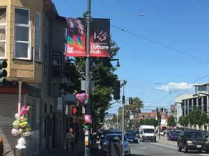 Mary-Booker-on-Third-St-banner-by-Meaghan-Mitchell-Hoodline-300x225, RIP: Mary L. Booker, civil rights activist, Bayview community theater leader, Local News & Views