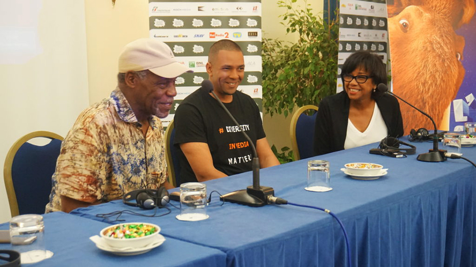 Panelists-Danny-Glover-Fred-Kuwornu-Cheryl-Boone-Isaacs-Motion-Picture-Academy-pres-at-Ischia-Global-Film-and-Music-Festival-0716-web, 'BlaxploItalian: 100 Years of Blackness in Italian Cinema', Culture Currents