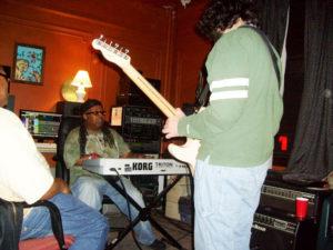 Rob-Da-Noize-Temple-in-studio-Brooklyn-House-300x225, Gentrification hits Brooklyn House: Sugar Hill DJ Rob 'Da Noize' Temple faces eviction, National News & Views