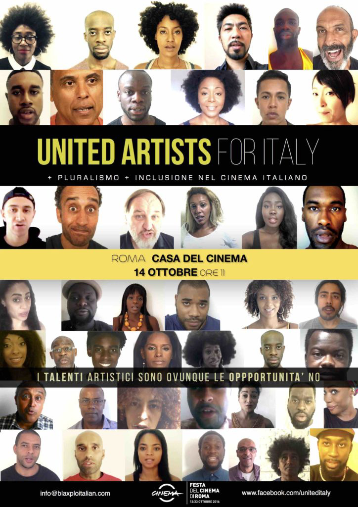 United-Artists-for-Italy-poster, 'BlaxploItalian: 100 Years of Blackness in Italian Cinema', Culture Currents
