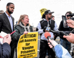 Vaughn-Prison-rebellion-rally-outside-day-after-rebellion-020217-by-Workers-World-300x238, Delaware returns to death penalty debate after prison uprising, Behind Enemy Lines