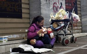 Homeless-mother-and-baby-on-street-300x187, CARICOM deals a blow to US plans for regime change in Venezuela, World News & Views