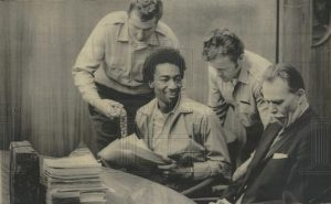 Ruchell-Magee-on-trial-1971-300x185, David Johnson of the San Quentin Six salutes political prisoner and expert jailhouse lawyer Ruchell Magee, Behind Enemy Lines