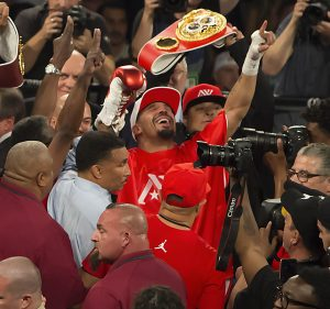 Ward-Kovalev-rematch-Ward-exults-crowd-erupts-Vegas-061717-by-Malaika-web-300x281, TKO! Dismantling the racist machine: Ward crushes Kovalev to retain the unified light heavyweight boxing title, Culture Currents