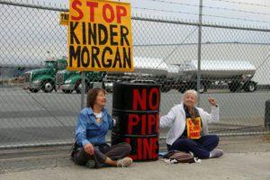 Indigenous-activists-blockade-Kinder-Morgan-Richmond-Terminal-to-halt-Trans-Mountain-tar-sands-pipeline-construction-072417-7.30am-300x200, Protesters blockade Kinder Morgan Richmond Terminal demanding halt to Trans Mountain tar sands pipeline, Local News & Views