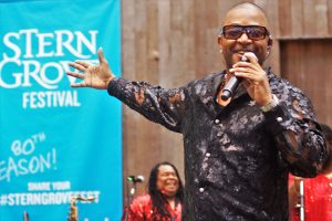 Kool-the-Gang-lead-singer-Shawn-McQuiller-at-Stern-Grove-062517-by-Harrison-web-300x200, Wanda's Picks for July 2017, Culture Currents