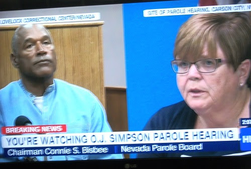 O.J.-Simpson-Parole-Board-Chairman-Connie-Bisbee-in-televised-parole-hearing-072017, O.J. Simpson, keep speaking for the powerless in prison, Behind Enemy Lines