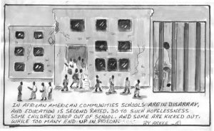 School-to-Prison-art-by-Arkee-Chaney-web-300x184, Healed people heal people: Use Prop 57 to restore leadership and strengthen communities, Behind Enemy Lines