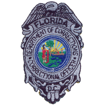Florida Department Of Corrections Correctional Officer Badge Patch