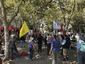 Millions-for-Prisoners-San-Jose-crowd-rallies-beneath-county-jail-081917-by-Raymond-Aguilar-FFSJ-web-300x225, As a nation grapples with white supremacy, the Millions for Prisoners March comes at the perfect time, National News & Views