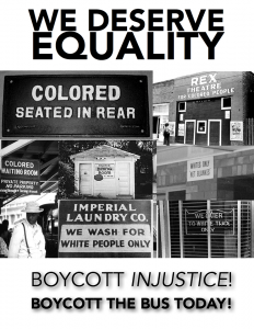 Montgomery-Bus-Boycott-'Boycott-Injustice'-poster-1956-web-232x300, We must affect the bottom line, Behind Enemy Lines