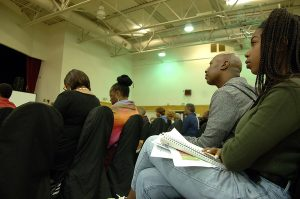 Allen-Temple-homelessness-forum-audience-092217-by-Betty-Rose-web-300x199, Allen Temple homelessness forum reveals Oakland leaders place low priority on housing, Local News & Views