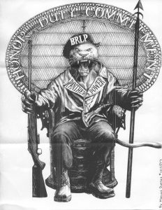 BRLP-Panther-Power-art-by-Marcus-Duenas-web-232x300, Letter to a young gangster, Behind Enemy Lines