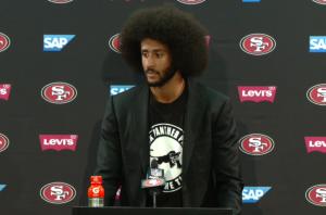 Kaepernick-wears-Black-Panther-T-shirt-300x198, Colin Kaepernick salutes Fred Hampton, as NFL continues to snub him, National News & Views