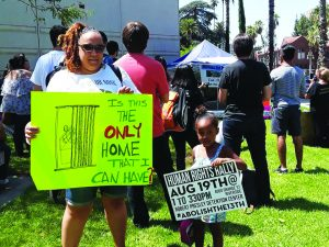 Millions-for-Prisoners-Riverside-crowd-Is-this-the-only-home-that-I-can-have-081917-300x225, New Abolitionist Movement on the march, National News & Views