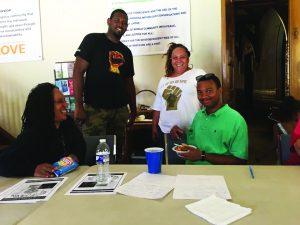 Millions-for-Prisoners-Riverside-organizers-Cheryl-Canson-Greg-Jones-Erica-Wilson-Rory-OSullivan-081917-300x225, New Abolitionist Movement on the march, National News & Views