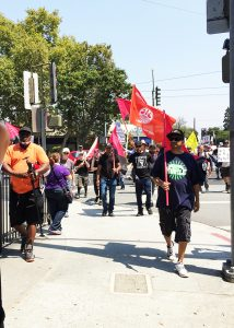 Millions-for-Prisoners-San-Jose-march-Troy-Daniel-Aguilar-SV-DeBug-leading-081917-by-Karpani-Devi-web-214x300, New Abolitionist Movement on the march, National News & Views