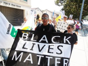 Millions-for-Prisoners-San-Jose-rally-attorney-Joyce-Joy-Lewis-Black-Lives-Matter-081917-by-Jahahara-web-300x225, New Abolitionist Movement on the march, National News & Views
