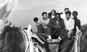 Ralph-Abernathy-newly-named-SCLC-head-takes-reins-Andrew-Young-Watani-Stiner-security-far-rt-Afro-at-Watts-Festival-0868-300x180, Watani Stiner: Tending to historical wounds, Behind Enemy Lines
