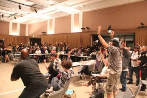 SF-Police-Commission-audience-of-100-votes-no-on-Tasers-091217-by-Julian-Mark-Mission-Local-300x200, San Franciscans push back on Tasers, Local News & Views
