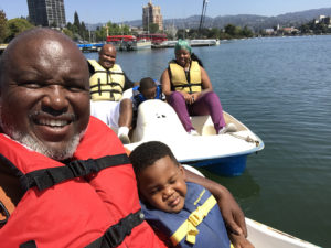 Troy-daughter-Torri-Brian-Sr.-grandsons-Byrin-Brian-Jr.-in-boat-082717-Lake-Merritt-web-300x225, March with me, Local News & Views