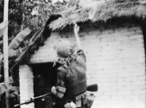 US-Marine-sets-fire-to-thatched-roof-of-house-in-Cam-Ne-South-Vietnam-0865-by-CBS-Evening-News-300x223, Ken Burns' and Lynn Novick's 'The Vietnam War' mandates we examine ourselves, our nation, World News & Views