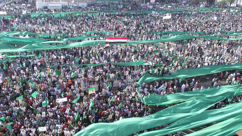 1.7-million-Libyans-demonstrate-Tripoli-Green-Square-071611-by-Mahdi-Darius-Nazemroaya, Remembering Muammar Qaddafi and the great Libyan Jamahiriya, World News & Views