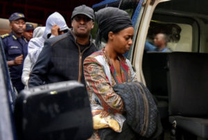 Diane-Rwigara-arrested-escorted-by-family-members-in-Kigali-Rwanda-090417-by-Jean-Bizimana-Reuters-300x202, U.S.-backed dictator Paul Kagame risks another violent implosion by tightening his grip on Rwanda, World News & Views