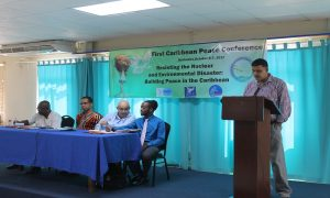 First-Caribbean-Peace-Conference-panel-Barbados-1006-0717-by-CaribFlame-300x180, Caribbean power bloc forms to challenge Trump's war mongering and climate change denial, World News & Views