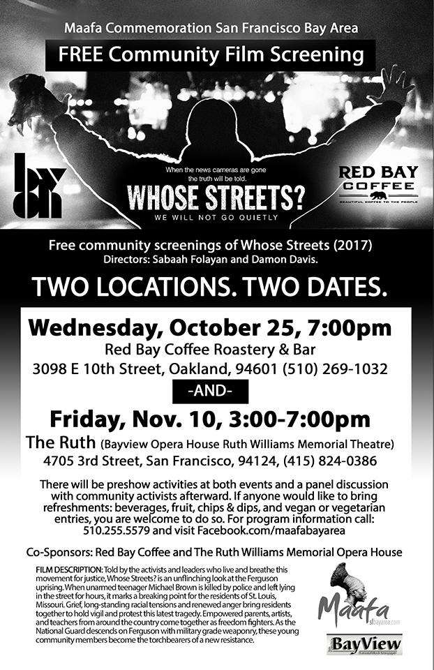 Whose-Streets-1117-web-1, 'Whose Streets?' Free community screenings Oct. 25 in Fruitvale, Nov. 10 in Bayview Hunters Point, Culture Currents